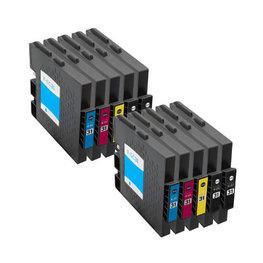 Huismerk Ricoh GC-31 Inktcartridges (gel) Multipack 8-Pack