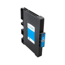 Huismerk Ricoh GC-41C Inktcartridge (gel) Cyaan