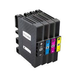 Huismerk Ricoh GC-41 Inktcartridges (gel) Multipack