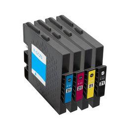 Huismerk Ricoh GC-21 Inktcartridges (gel) Multipack
