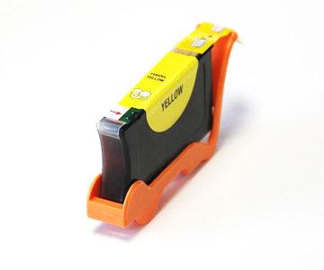 Huismerk Lexmark 100XL (14N1071E) Inktcartridge Geel