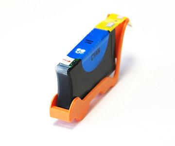 Huismerk Lexmark 100XL (14N1069E) Inktcartridge Cyaan