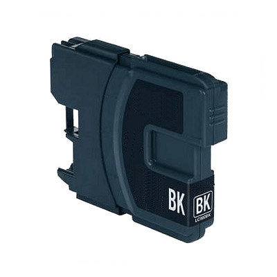 Huismerk Brother LC-1100BK/LC-980BK Inktcartridge Zwart