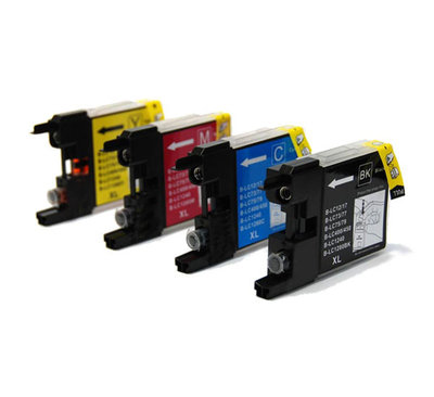 Huismerk Brother LC-1240 Inktcartridges Multipack
