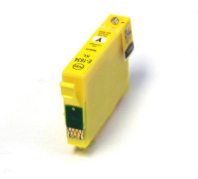 Huismerk Epson 16XL (T1624/T1634) Inktcartridge Geel