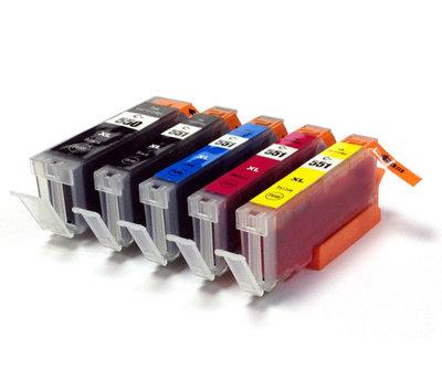 Huismerk Canon CLI-551XL Inktcartridges Multipack (met chip)