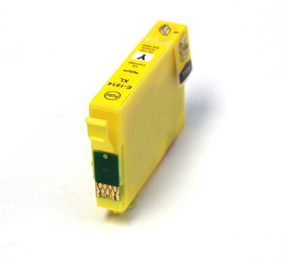 Huismerk Epson 18XL (T1814) Inktcartridge Geel
