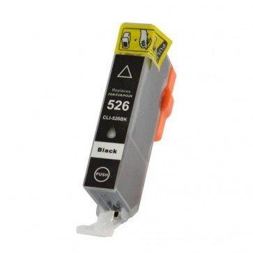 Huismerk Canon CLI-526BK Inktcartridge Zwart (met chip)