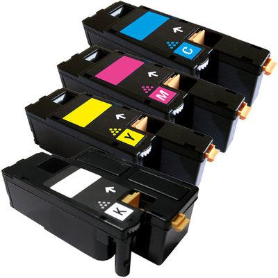 Huismerk Dell C1660W Toner Multipack