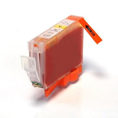 Huismerk Canon BCI-3Y/BCI-6Y Inktcartridge Geel