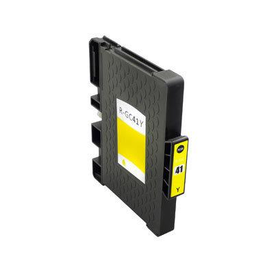 Huismerk Ricoh GC-41Y Inktcartridge (gel) Geel
