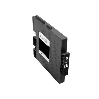 Huismerk Ricoh GC-21K Inktcartridge (gel) Zwart