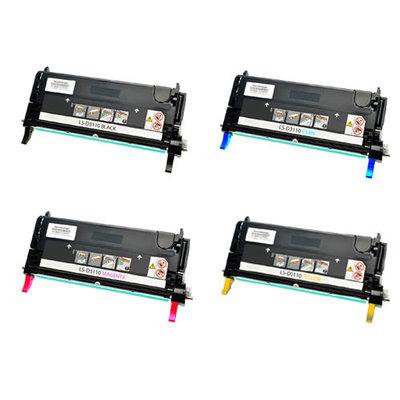 Huismerk Dell 3110CN/3115CN Toner Multipack