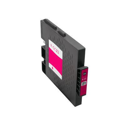 Huismerk Ricoh GC-21M Inktcartridge (gel) Magenta