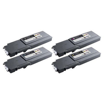 Huismerk Dell C3760N/C3760DN/C3765DNF Toner Multipack