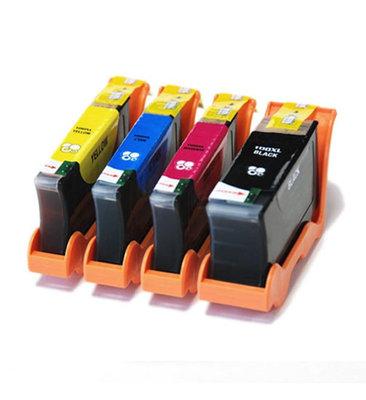 Huismerk Lexmark 100XL (14N0850) Inktcartridges Multipack 4-Pack