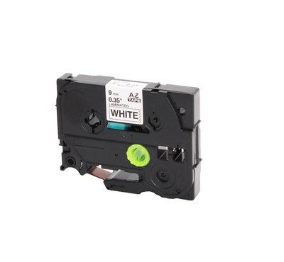 Huismerk Brother TZe-221 Tape Zwart op Wit 9mm