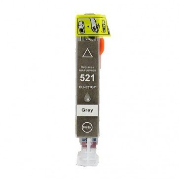 Huismerk Canon CLI-521GY Inktcartridge Grijs (met chip)
