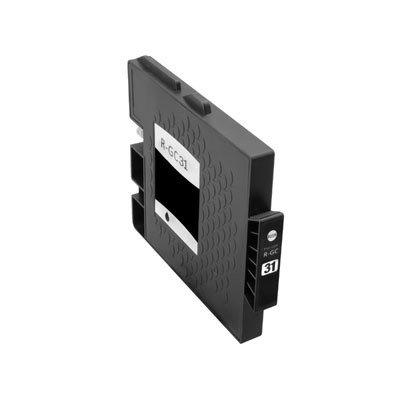 Huismerk Ricoh GC-31K Inktcartridge (gel) Zwart
