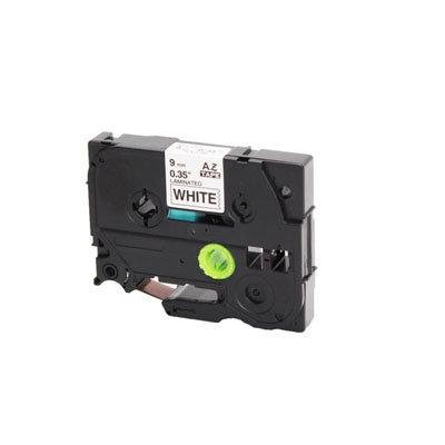 Huismerk Brother TZe-211 Tape Zwart op Wit 6mm
