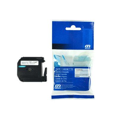 Huismerk Brother M-K231 Tape Zwart op Wit 12mm