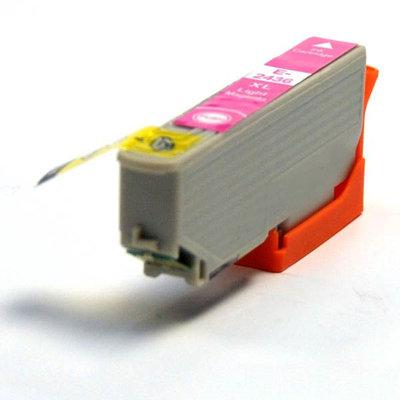 Huismerk Epson 24XL (T2436) Inktcartridge Licht Magenta