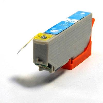 Huismerk Epson 24XL (T2435) Inktcartridge Licht Cyaan