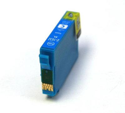 Huismerk Epson 16XL (T1622/T1632) Inktcartridge Cyaan