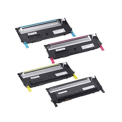 Huismerk Dell 1230C/1235CN Toner Multipack