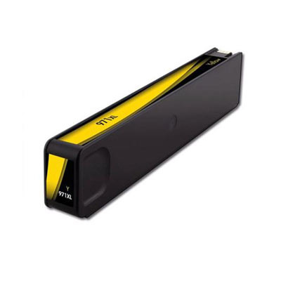Huismerk HP Nr. 971XL (CN628AE) Inktcartridge Geel