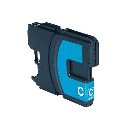 Huismerk Brother LC-1100C/LC-980C Inktcartridge Cyaan