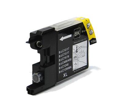 Huismerk Brother LC-1240BK Inktcartridge Zwart