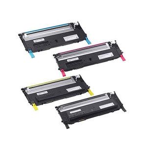 Dell 1230C/1235CN tonerset 4 kleuren