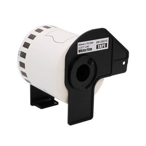 Brother DK-22212 continue filmtape wit 62mm x 15,24m
