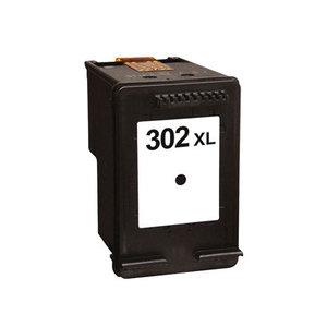 HP 302XL F6U68AE inktcartridge zwart