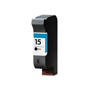 Huismerk HP 15 (C6615DE) Inktcartridge Zwart