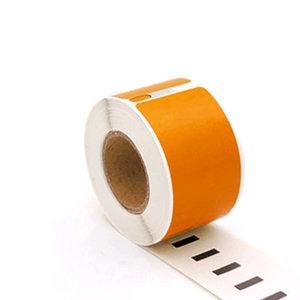 Huismerk DYMO 99010 (S0722370) Adreslabels Smal 89mmx28mm 130 Stuks Oranje