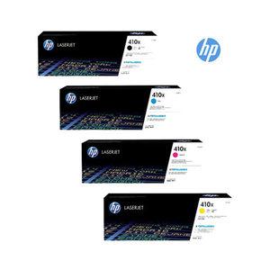 HP 410X (CF410X/CF411X/CF412X/CF413X) Toner Multipack 4 Pack